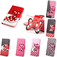 Cartoon Flip Synthetic Leather Wallet TPU Case Cover Pouch For Google LG Nexus 5