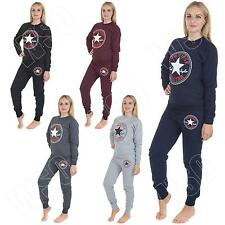 Womens Converse Tracksuit All Star Chuck Taylor Ladies Jogging Bottoms S M L