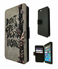 Walking Dead Zomie Hands iphone 4 5 5S 5C iphone 6/ 6 Plus Case Flip Card Purse