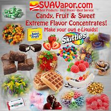 SVA PREMIUM eliquid E-juice E liquid vape Flavors for DIY Make your own liquids!
