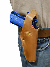 New Barsony Tan Leather Belt OWB Holster for Springfield Full Size 9mm 40 45