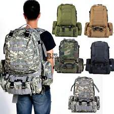 New Outdoor Military Camping hiking Assault Tactical Large Rucksack Backpack Bag