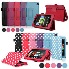 """For 2014 Amazon Kindle Fire HD 6"""" / HD 7"""" Folio PU Leather Case Cover Stand"""