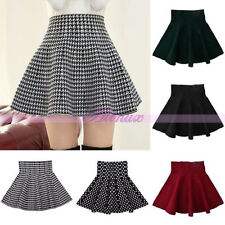 Stylish Lady Spring Winter Autumn Short Full Skirts Cute Skirt Mini Prom Dress