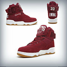 Men's Patrick Ewing 33 Hi Biking Red/White-Gum  1EW90013-602