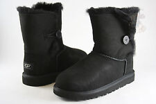 Toddler UGG Australia Bailey Button Boot 5991T Black 100% Authentic Brand New