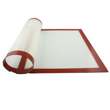 Silicone Baking Mat NonStick Tray Oven Dough Rolling Pastry Clay Pad Liner Sheet