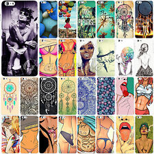 """Sexy Girl Lot Design Painted Hard Back Skin Case Cover for iPhone 6 4.7"""" 6 Plus"""
