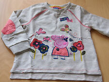 BNWOT Peppa Pig Girls Jumper, Size 2-3 &  4-5