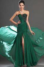 2014 Green mermaid Prom Gown Evening/Formal/Party/Cocktail/Prom Dress SZ