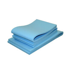 Upholstery foam sheets * cushions. High density foam select any size FIRM BLUE