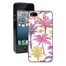 For Apple iPhone 4 4S 5 5S 5c 6 6s Plus Hard Case Cover 1067 Colorful Palm Trees