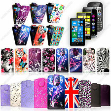 For Nokia Mobile Phones New Stylish Printed PU Leather Magnetic Flip Case Cover