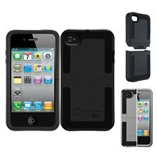 OtterBox Dockable iPhone 4/4S Reflex Series Protective Case - Black / Silver