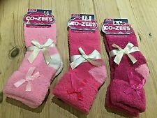 LADIES GIRLS FLUFFY SOCKS LOUNGE BED SLIPPERS SNOWSOFT & CO-ZEES by ALER BNWT