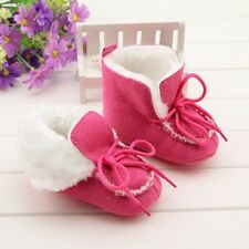 Beautiful Girl Toddler Baby Shoes Crib Shoes Snow Boots Newborn to 0-18 Months