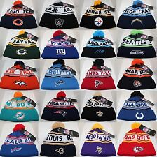 NFL Team Preschool/Junior/Youth Knit Cap Beanie Hat with Pom-Various Teams Avail