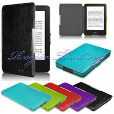 For Amazon 2014 Kindle 7th Gen Magnetic Slim PU Leather Case Cover Sleep/Wake