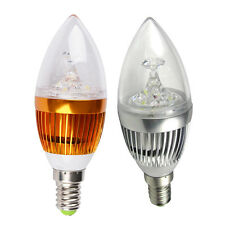 9W E14 E27 3*3 W Dimmable High Power LED Chandelier Candle Light Bulb Lamp spot