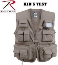 KHAKI Kids Uncle MiltysTravel Multi-Pocket Fishing & Photography Vest 8546