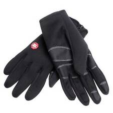 Thermal Gloves Black Windproof Water Resistant Thin Thermal Warm Unisex Glove