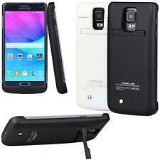 4800Ah External Battery Backup Charge Power Case Cover For Samsung Galaxy Note 4