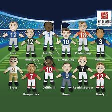 NFL QUARTERBACK PLUSH DOLLS Choose Favorite QB Payton,RG3,Romo,Brady,Luck,Wilson