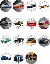 Wall Clock With Motif: Dodge Automobile Motifs Motor Vehicle Car Us Car