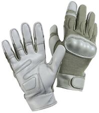 Foliage Green Military Police Cut Resistant Hard Knuckle Tactical Gloves 3464
