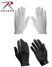 BLACK or WHITE Military Cotton Dress Band Parade Gloves 44410 4410