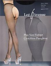 VARIOUS COLOURS & SIZES Fishnet Open Crotch Tights / Crutchless Panty Hose BNIP