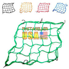 Motorcycle 5 Color Parts Rear Helmet Elastic Web Cargo Nets Mesh New Fast Ship