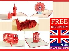LARGE RANGE OF POP UP CARDS FOR ALL OCCASIONS KIRIGAMI CARD