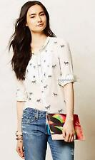 NEW Anthropologie Holding Horses Ismay Buttondown  Size 0P-0-2P-6-8