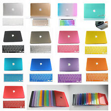 Rubberized Crystal Hard Case +Gift For Macbook New Air 11 13/Old A1181 White 13""
