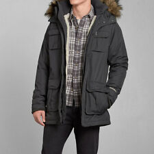 100% Authentic Abercrombie and Fitch AF Men's ALL-SEASON WEATHER WARRIOR PARKA