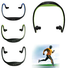 Sports Running Ear Hook Headphone Wireless MP3 Player Headset Loop TF Card