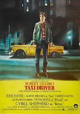 Taxi Driver - movie - A3 poster
