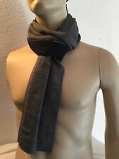 GIORGIO EMPORIO ARMANI Made In Italy WOOL HAT SCARF reversible M L +PERFECT GIFT