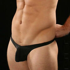 Soft & Sexy! Men's G Sling-Shot Black or White Underwear Pouch Dance Pose 7420