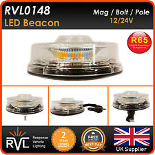 12/24v LED Flashing Beacon MAGNETIC, BOLT, FLEX DIN POLE, Strobe Light Lightbar