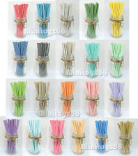 25 50 75  Baby Shower Party Paper Straws Birthday Wedding Chevron FREE SHIP