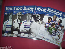 2010/11 - QPR HOME PROGRAMMES CHOOSE FROM