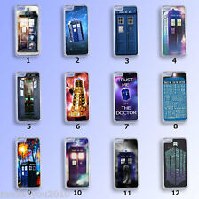 DOCTOR WHO Series Tardis Police Box Dalek iPhone Samsung Phone COVER Case