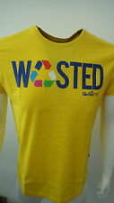 BNWT GIO GOI YELLOW WASTED SHORT SLEEVE T SHIRT STYLE TRAITOR SIZE S/M/L/XL/XXL