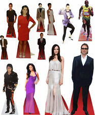 Celebrity Cardboard Desktop Cutout Stand 17cm Tall Real Stand Up Fold Neatly