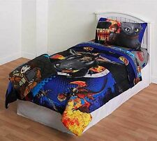 Boys How to Train your Dragon 4pc TWIN / FULL Bedding in Bag ARRIVE BY DEC 24