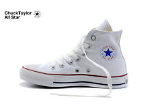 Converse Chuck Taylor All Star Trainers High -Top & Low - Top Optical White 4-10