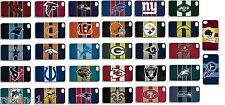 Apple iPad 2, Mini, Air 1G iPhone 6 Plus NFL Team Logo Case Cover White Black