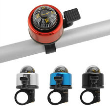 Bell Horns Metal Ring Alarm Handlebar Cycling Road Bike Compass Multicolour